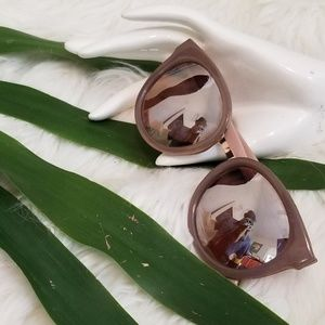 J. Crew Round Mirror Shades Sunnies Sunglasses